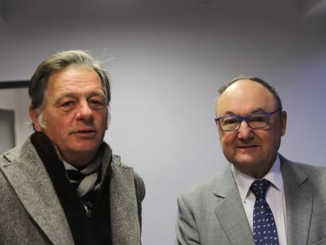 Cyrille Isaac-Sibille et Gérard Angel - LyonMag