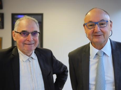 Roland Jacquet et Gérard Angel - LyonMag