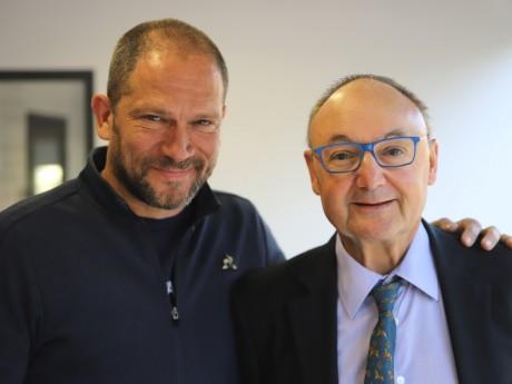 Jakè et Gérard Angel - LyonMag