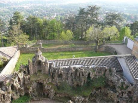Le jardin de l'Ermitage - DR