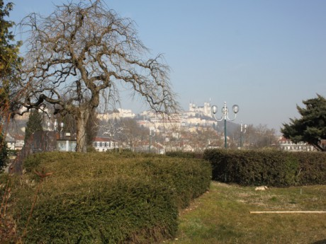 Un panorama suprenant depuis les jardins de Perrache - LyonMag.com