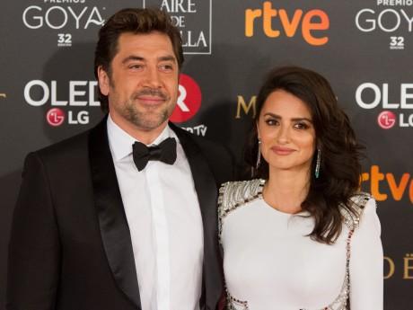 Javier Bardem accompagné de sa femme - DR