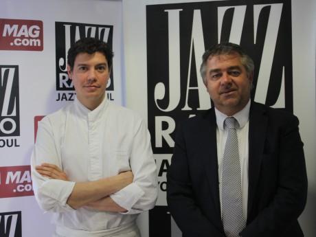 Jean-Christophe Larose et Julien Ducoté - LyonMag