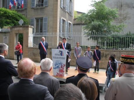 La cérémonie en hommage à Jean Moulin ce dimanche à Caluire - LyonMag