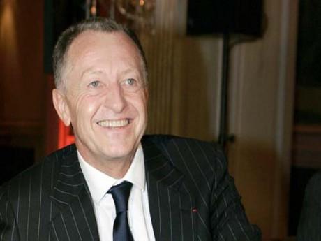 Jean-Michel Aulas est ravi que le Grand Stade avance - DR