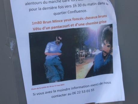 Lyon : Jérémie reste introuvable depuis une semaine - DR