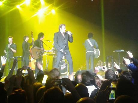 Johnny Hallyday à la Halle Tony Garnier - Photo LyonMag