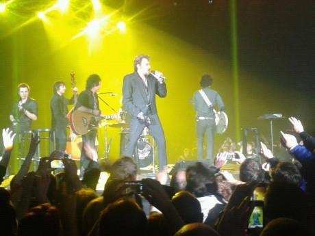 Johnny Hallyday, lors d'un concert à la Halle Tony-Garnier - LyonMag