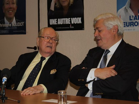 Jean-Marie Le Pen et Bruno Gollnisch - LyonMag