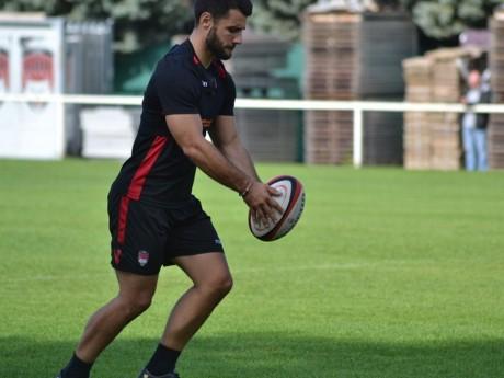 Jonathan Pélissié - DR LOU Rugby