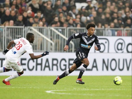 Jules Koundé face à l'Olympique Lyonnais - DR