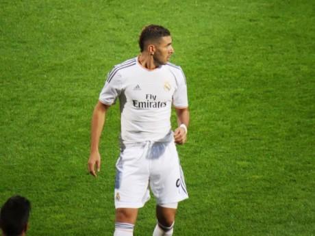 Karim Benzema sous le maillot du Real Madrid - Photo LyonMag.com