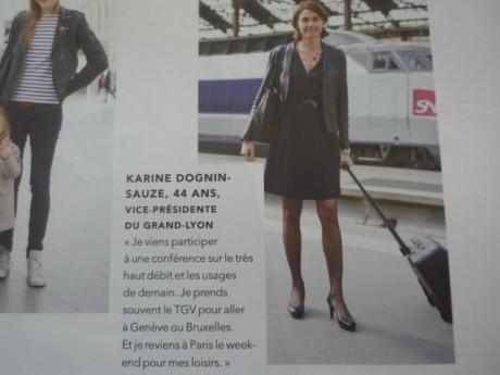 La page 104 du TGV Magazine - Lyonmag