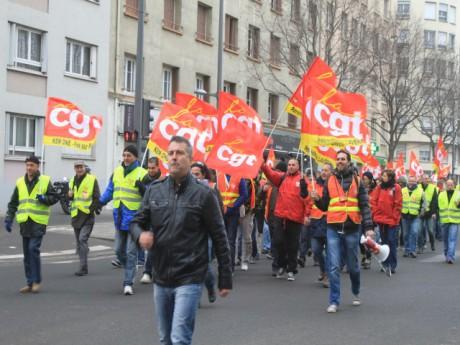 Manifestation des salariés de Kem One - LyonMag.com