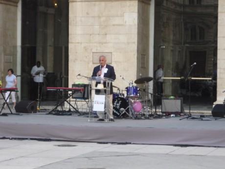 Georges Kepenekian lors de la présentation de