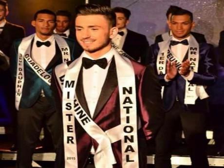 Kevin Martin Gadrat, mister national 2015 - DR