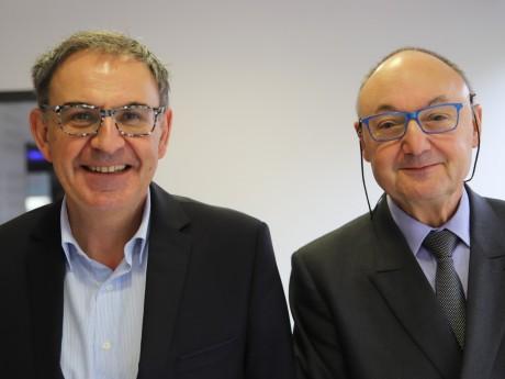 David Kimelfeld et Gérard Angel - LyonMag