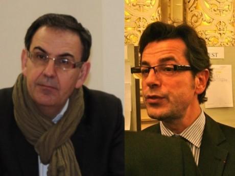 David Kimelfeld et Emmanuel Hamelin - LyonMag