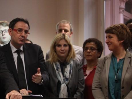 David Kimelfeld opposé à Cécile Michaux (à droite) - LyonMag