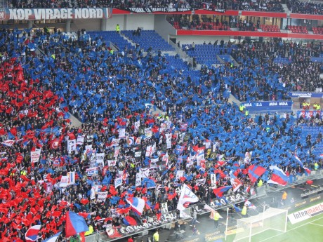 Les supporters Lyonnais - Lyonmag.com