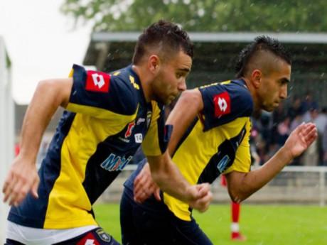 Marvin Martin et Ryad Boudebouz, deux amis qui ne seraient pas contre l'idée de signer dans le même club - DR Foot01