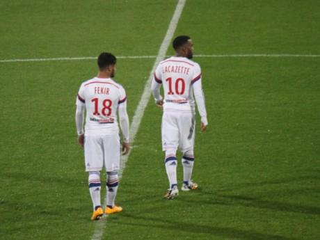 Nabil Fekir et Alexandre Lacazette sous le maillot de l'OL - Lyonmag.com