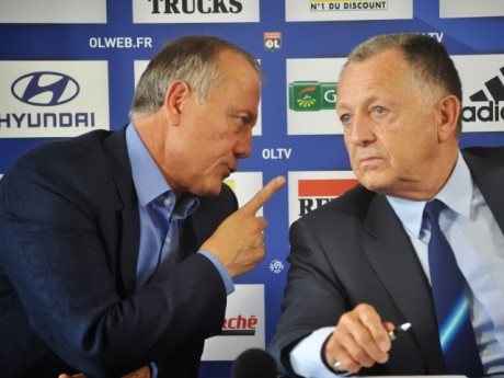 Jean-Michel Aulas et Bernard Lacombe - LyonMag