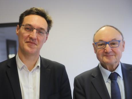 Eric Lafond et Gérard Angel - LyonMag