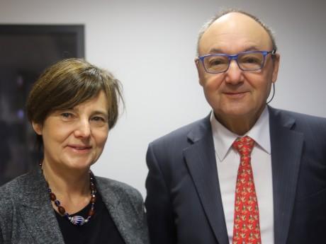 Hélène Lafont-Couturier et Gérard Angel - LyonMag