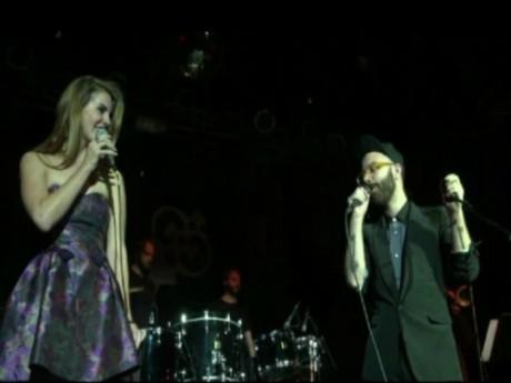 Lana Del Rey et WoodKid sur scène à New York - DR