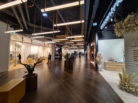 Une partie de la nouvelle galerie commerçante de la Part-Dieu appelée