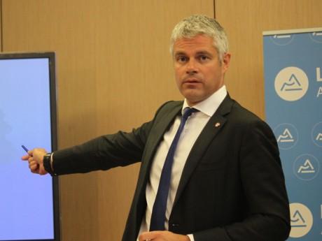Le président de la région Auvergne-Rhône-Alpes, Laurent Wauquiez - LyonMag