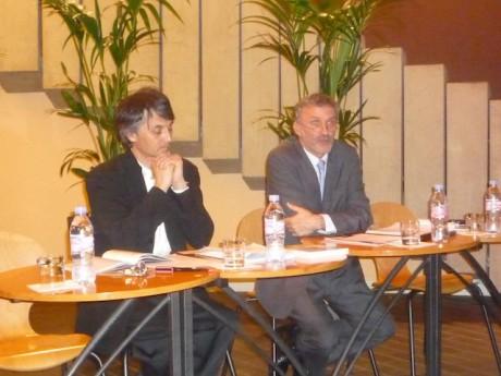 Déjà en 2010, les rapports entre Laurent Langlois et l'institution étaient tendus (ici avec Jun Märkl) - Photo Lyonmag.com