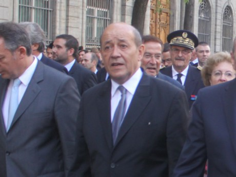Jean Yves Le Drian - LyonMag Photo d'illustration