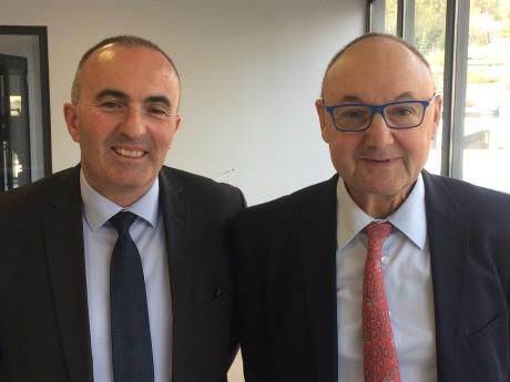 Michel Le Faou et Gérard Angel - LyonMag