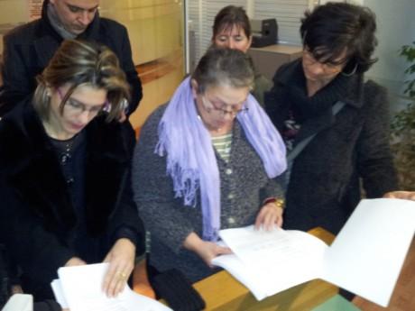 Les Lejaby découvrent la décision du tribunal - Photo LyonMag