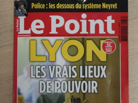 La une du magazine - Photo Lyonmag.com