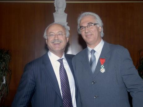 Jean-Louis Touraine et Kamel Sanhadji - LyonMag