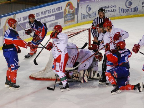 Le LHC face à Anglet - Photo Lyonmag