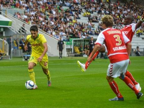 Léo Dubois sous le maillot du FC Nantes - DR