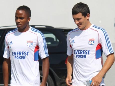Loïc Abenzoar (à gauche), avant qu'il ne quitte l'OL - LyonMag