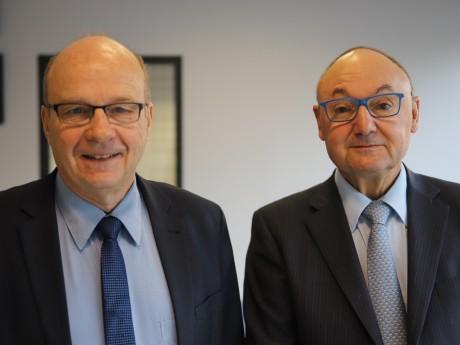 Jean-Michel Longueval et Gérard Angel - LyonMag