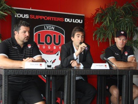 Olivier Azam, Yann Roubert et Tim Lane - photo Lyonmag.com