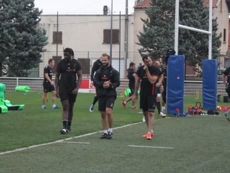 Entraînement LOU Rugby - LyonMag