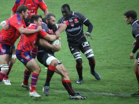 Le Lou Rugby face à Béziers la semaine dernière - Photo Lyonmag.com