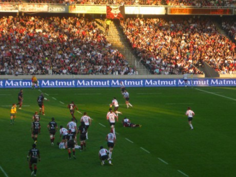 Le LOU Rugby a déjà évolué à Gerland, battant même le record de fréquentation de ProD2 - LyonMag