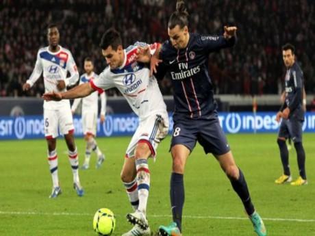 Pas question de dérapages entre Lyonnais et Parisiens, comme lors du match aller où Ibrahimovic avait piétiné Lovren - DR