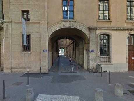 Le lycée Ampère à Lyon - DR Google