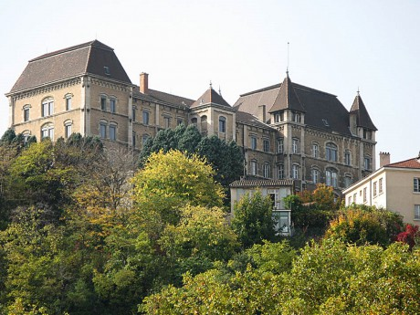 Le lycée Saint-Just - DR