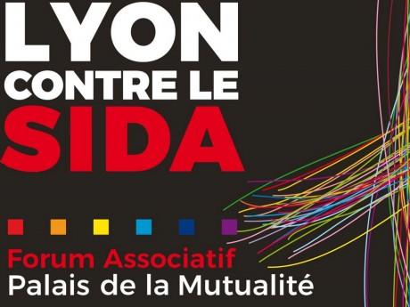 Affiche de Lyon contre le SIDA - DR